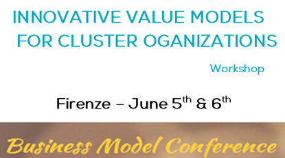Workshop: Innovative Value Models for Cluster Organizations in Firenze